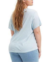 Trendy Plus Size Perfect Logo Cotton T-Shirt
