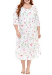 Plus Size Cottonessa Mid Sleep Gown