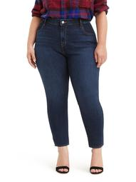 Levis Women's Plus Size High Rise 711 Ankle Skinny Jeans