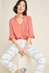 DOLAN Collection Tandy Ruffled Top