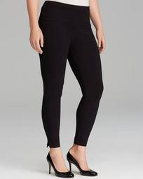 Cotton Leggings with Ankle Vents