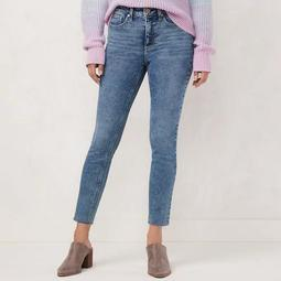 Women's LC Lauren Conrad High-Waisted Skinny Ankle Jeans