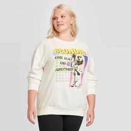 Women's Blondie Plus Size Sweatshirt (Juniors') - Ivory