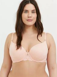 Peach Pink 360° Back Smoothing™ Lightly Lined T-Shirt Bra