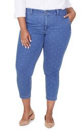 Ami High Waist Crop Skinny Jeans