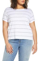 Stripe Organic Linen T-Shirt