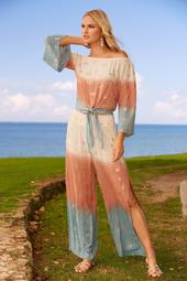 Ombre Embellished Pant
