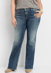 plus size Silver Jeans Co.® Suki medium wash bootcut jean
