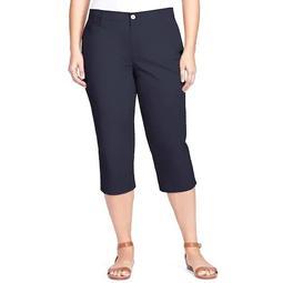 Plus Size Gloria Vanderbilt Amanda Trouser Capri Pants