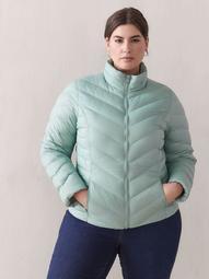 Short Packable Puffer Jacket - Addition Elle