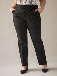 Savvy, Tall, Printed Straight-Leg Pant - In Every Story