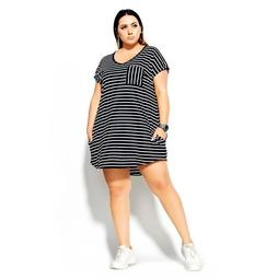 CCX Chilled Stripe Dress