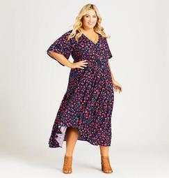 Val Print Dress