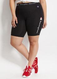Champion Logo Tape Biker Shorts