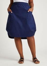 DUBGEE By Whoopi Structure Skirt