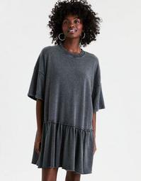 AE Oversized Fleece Babydoll Dress