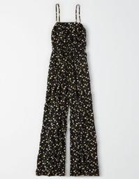 AE Floral Ring Front Jumpsuit