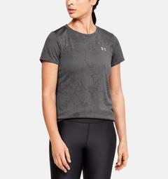Women's UA Tech™ Marble Jacquard Short Sleeve