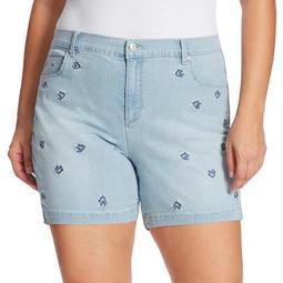 Plus Size Gloria Vanderbilt Amanda Shorts