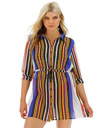 Joanna Hope Regatta Shirt Dress