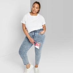 Women's Plus Size Short Sleeve Crewneck Relaxed T-Shirt - Wild Fable™