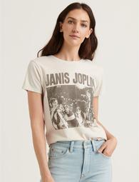 Janis Joplin In Brazil Tee