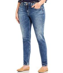 Plus Size Suki Mid Rise Skinny Leg Jean