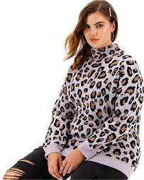 Leopard Metallic Sweater