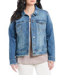Plus Size Sally Denim Jacket