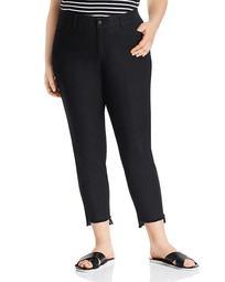 Mercer Step-Hem Ankle Jeans in Indigo
