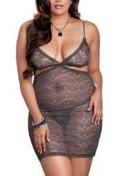 Cutaway Lace Chemise