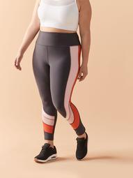Colour Block High-Rise 7/8 Legging - ActiveZone