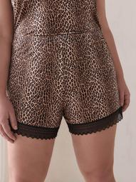 Leopard Print Sabrina Pajama Short - Cosabella