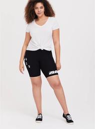 Disney 101 Dalmatians Black Bike Shorts