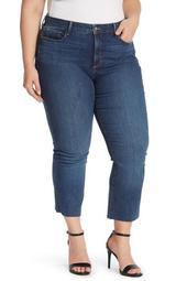 Billie Raw Hem Jeans (Plus Size)