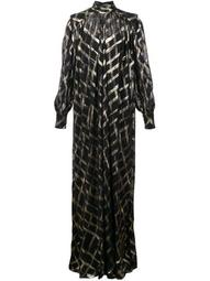 oversized roll neck maxi dress