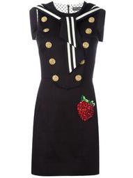 strawberry patch sailor dress