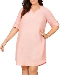 Harmony Non-Iron Linen Dress