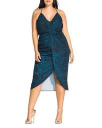 Viper Twist Front Dress