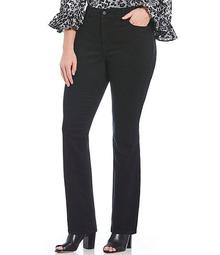 Plus Size Marilyn Straight Jeans