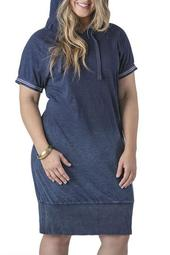 Tori Hoodie Dress (Plus Size)