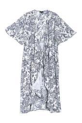 Orna Wrap Dress (Plus Size)