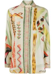 long sleeve printed Aloe shirt
