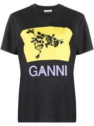 floral graphic logo T-shirt
