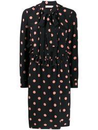 polka dot bow tie dress