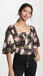 Aberdine Puff Sleeve Top