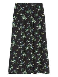 JAPAN EXCLUSIVE Floral Midi Skirt