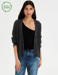 AE Recycled Button Up Cardigan