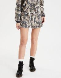 AE High-Waisted Fleece Pull-On Short
