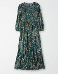 AE Smocked Babydoll Maxi Dress